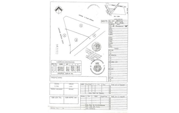 Foto de terreno comercial en venta en  , residencial pensiones v, mérida, yucatán, 1291927 No. 05