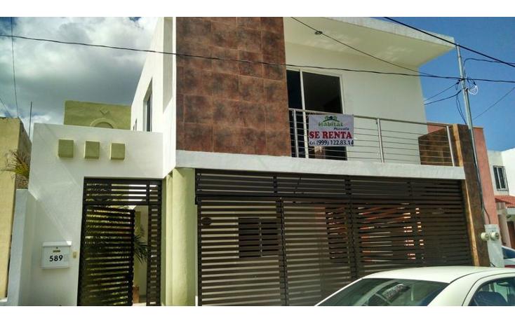 Foto de casa en renta en  , residencial pensiones v, mérida, yucatán, 1325569 No. 01