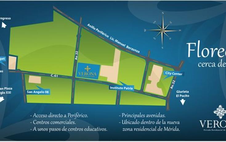 Foto de terreno habitacional en venta en  , residencial san angelo, mérida, yucatán, 1253867 No. 04