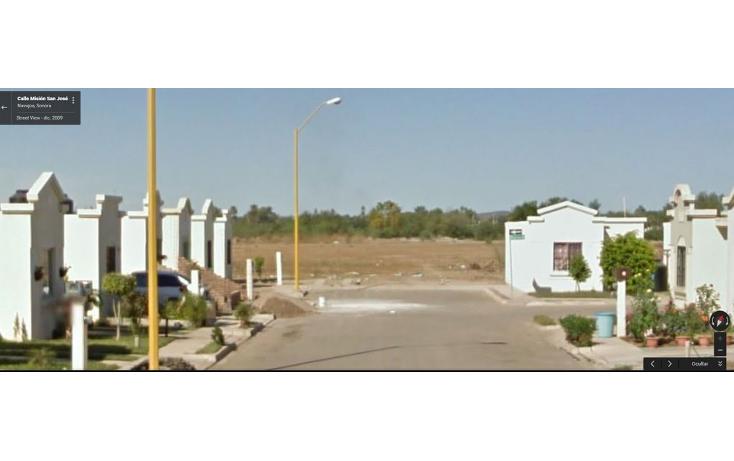 Foto de terreno habitacional en venta en  , residencial santa mar?a, navojoa, sonora, 1065681 No. 02