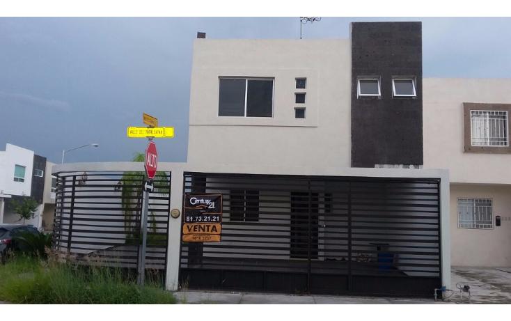 Foto de casa en venta en  , residencial valle azul, apodaca, nuevo león, 1983982 No. 01
