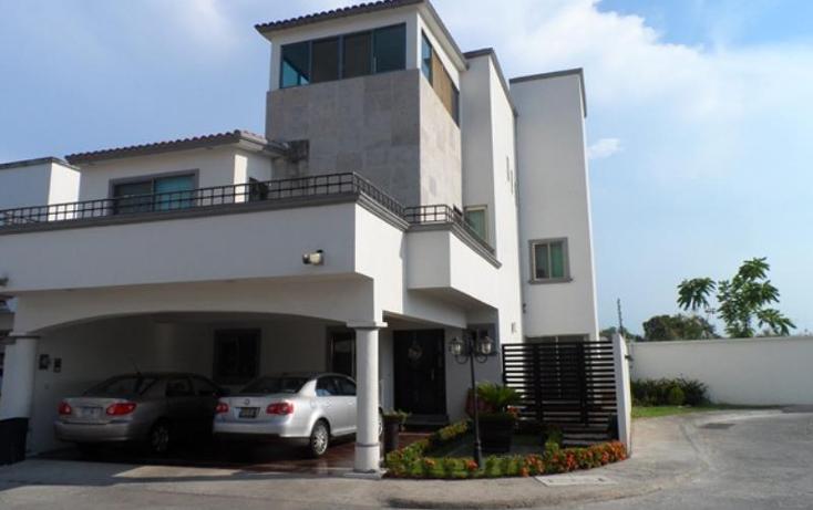 Foto de casa en venta en  , residencial villas del sol, centro, tabasco, 552269 No. 01