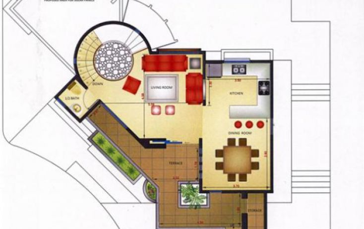 Foto de casa en condominio en venta en residential toscana model c, el tezal, los cabos, baja california sur, 1777470 no 04
