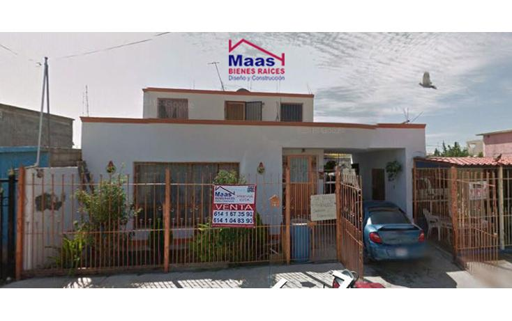 Foto de casa en venta en  , revolución, chihuahua, chihuahua, 1749002 No. 01