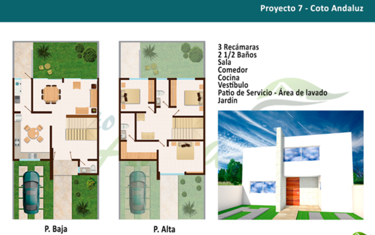Foto de casa en venta en  , rincón andaluz, aguascalientes, aguascalientes, 1693536 No. 01