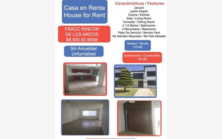 Foto de casa en renta en rincon de los arcos 1, los arcos, irapuato, guanajuato, 1823984 No. 01