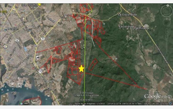 Foto de terreno habitacional en venta en rincon de urias 45, urias, mazatlán, sinaloa, 1124391 No. 04