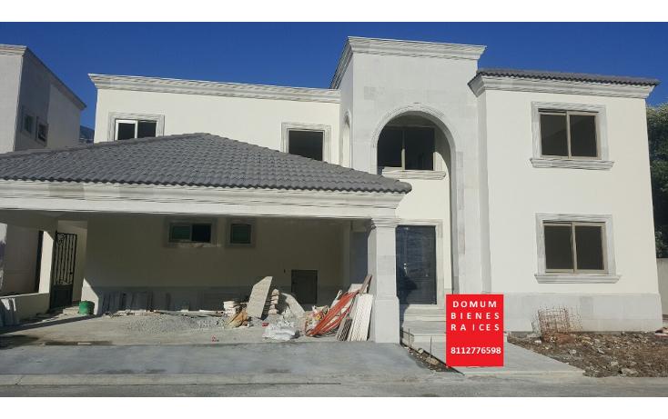Foto de casa en venta en  , rincón de valle alto, monterrey, nuevo león, 1406101 No. 01