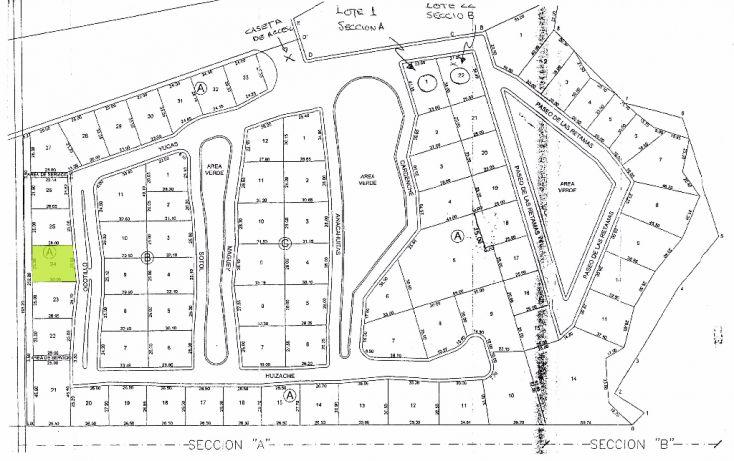Foto de terreno habitacional en venta en, rincón del montero, parras, coahuila de zaragoza, 1778792 no 01