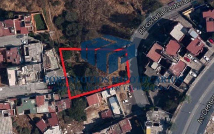 Foto de terreno habitacional en venta en rinconada centenario 10, colina del sur, álvaro obregón, df, 2000284 no 01