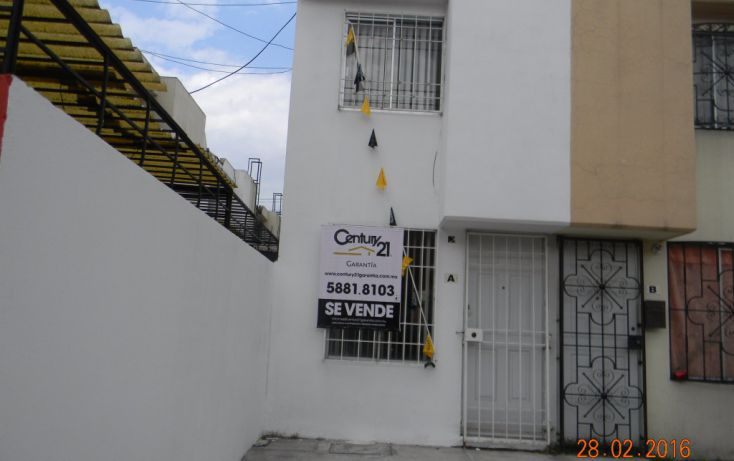 Foto de casa en venta en rinconada nogales mz 3, lt 29, viv a, rinconada san felipe ii, coacalco de berriozábal, estado de méxico, 1709082 no 01