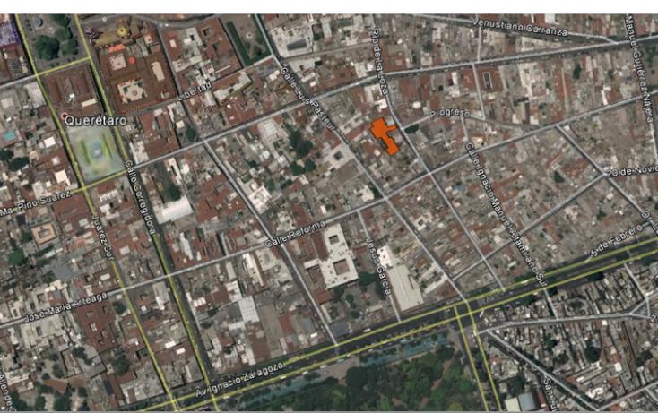 Foto de terreno habitacional en venta en rio de la loza, centro, querétaro, querétaro, 1006673 no 01