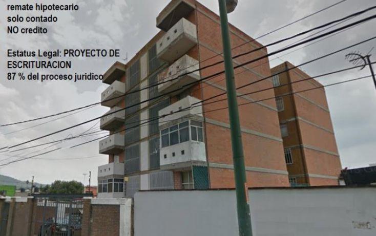 Foto de departamento en venta en río de los remedios, barrio candelaria ticomán, gustavo a madero, df, 1576308 no 01