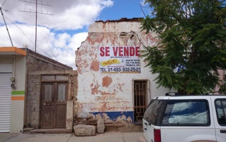Foto de terreno comercial en venta en  , rio grande centro, r?o grande, zacatecas, 813233 No. 01