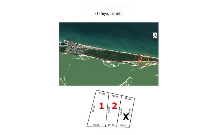Foto de terreno habitacional en venta en  , rio lagartos, río lagartos, yucatán, 1112913 No. 01