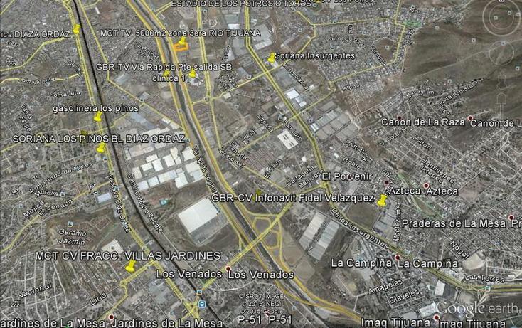 Foto de terreno habitacional en venta en  , río tijuana 3a etapa, tijuana, baja california, 1522176 No. 01