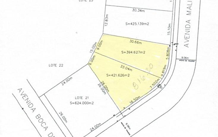 Foto de terreno habitacional en venta en  , rivera de la condesa, boca del r?o, veracruz de ignacio de la llave, 1140923 No. 10