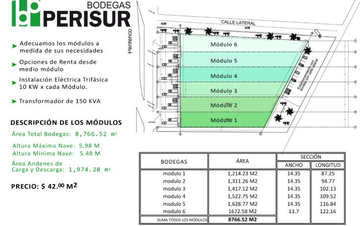 Foto de nave industrial en renta en  , roble ii, mérida, yucatán, 1138209 No. 06
