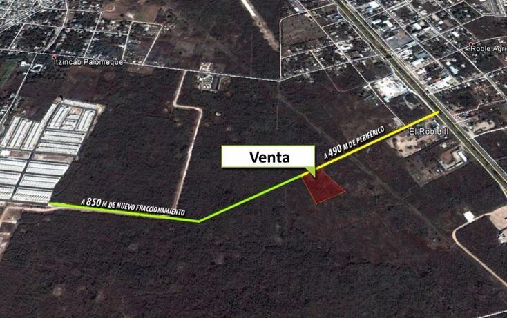 Foto de terreno habitacional en venta en  , roble ii, mérida, yucatán, 1719270 No. 01