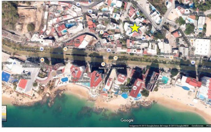 Foto de departamento en venta en roca sola 40, condesa, acapulco de juárez, guerrero, 1479829 no 01