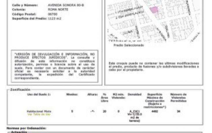 Foto de terreno habitacional en venta en, roma norte, cuauhtémoc, df, 2012289 no 05