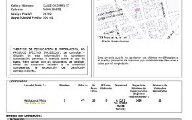 Foto de terreno habitacional en venta en, roma norte, cuauhtémoc, df, 2012289 no 06