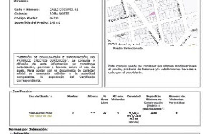 Foto de terreno habitacional en venta en, roma norte, cuauhtémoc, df, 2012289 no 08