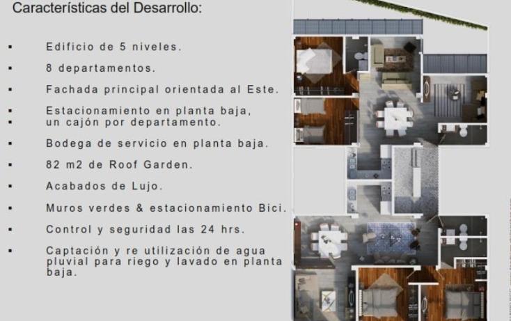 Foto de departamento en venta en  , roma norte, cuauhtémoc, distrito federal, 1616414 No. 04