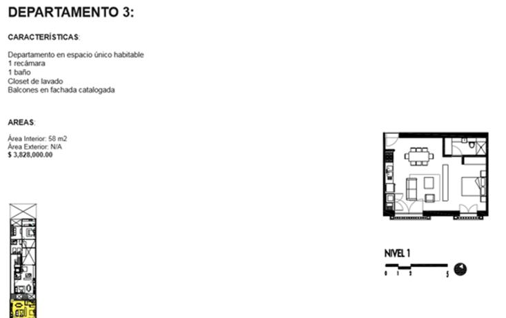 Foto de departamento en venta en  , roma norte, cuauht?moc, distrito federal, 1834996 No. 08