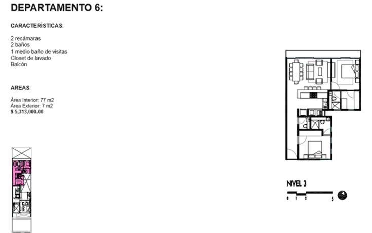 Foto de departamento en venta en  , roma norte, cuauhtémoc, distrito federal, 1834996 No. 11