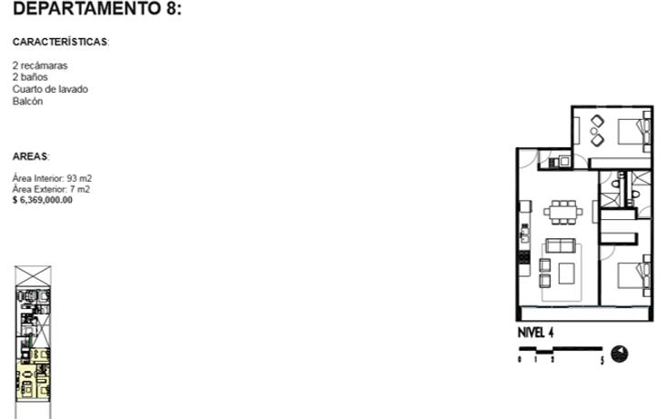 Foto de departamento en venta en  , roma norte, cuauhtémoc, distrito federal, 1834996 No. 13