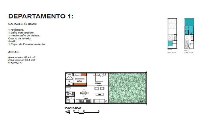 Foto de departamento en venta en  , roma norte, cuauhtémoc, distrito federal, 1873842 No. 07