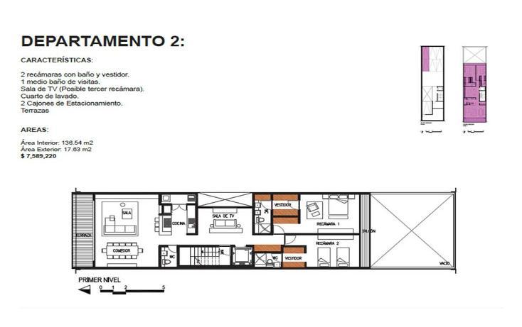 Foto de departamento en venta en  , roma norte, cuauhtémoc, distrito federal, 1873842 No. 08
