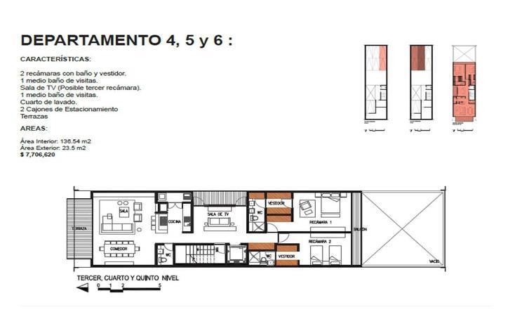 Foto de departamento en venta en  , roma norte, cuauhtémoc, distrito federal, 1873842 No. 10