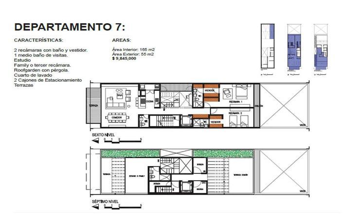 Foto de departamento en venta en  , roma norte, cuauhtémoc, distrito federal, 1873842 No. 11