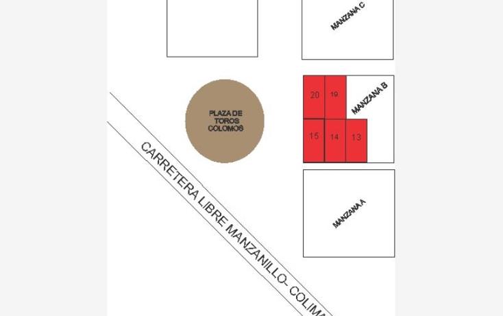 Foto de terreno habitacional en venta en  15, el colomo, manzanillo, colima, 1533710 No. 01
