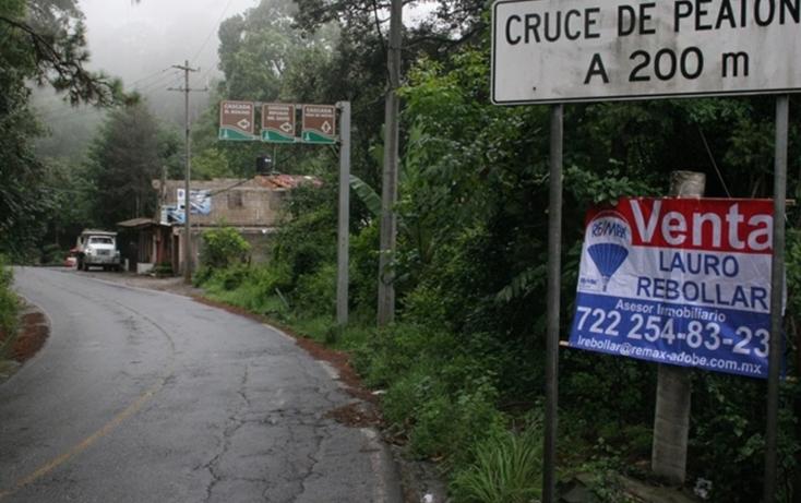 Foto de terreno habitacional en venta en ruta del bosque , avándaro, valle de bravo, méxico, 829567 No. 02