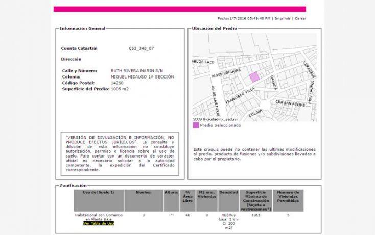 Foto de casa en venta en ruth rivera marin 81, miguel hidalgo, tlalpan, df, 2040204 no 03