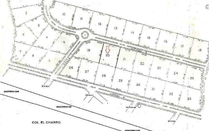 Foto de terreno habitacional en venta en  s, el ojital, tampico, tamaulipas, 1630406 No. 02