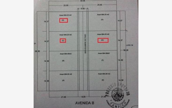 Foto de terreno habitacional en venta en  s, el ojital, tampico, tamaulipas, 1630406 No. 04