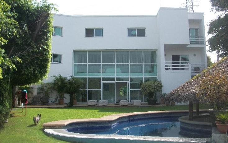 Foto de casa en renta en  s, tabachines, cuernavaca, morelos, 390535 No. 01