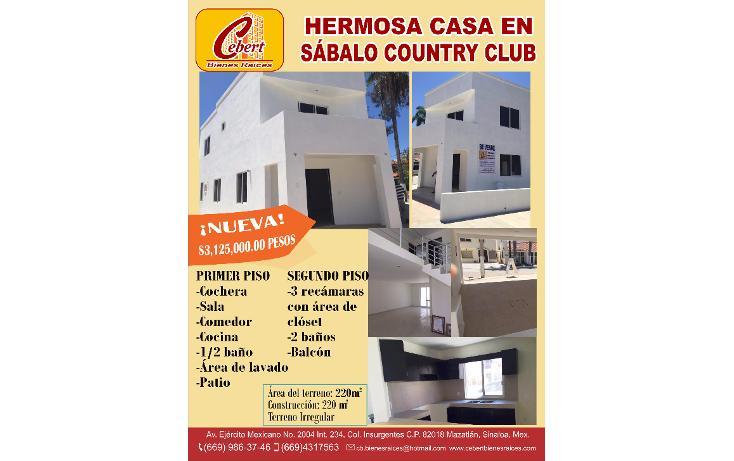 Foto de casa en venta en  , sábalo country club, mazatlán, sinaloa, 1289733 No. 14