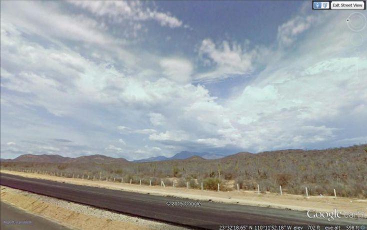 Foto de terreno habitacional en venta en sabanillas y fraccion del encanto 3 hwy 19 pacific, la esperanza, la paz, baja california sur, 1697490 no 01