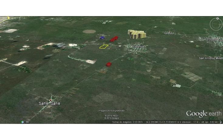 Foto de terreno comercial en venta en  , sahe, tixpéhual, yucatán, 1084195 No. 02