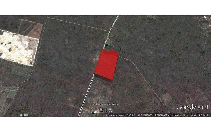 Foto de terreno comercial en venta en  , sahe, tixpéhual, yucatán, 1084195 No. 03