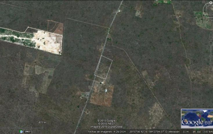 Foto de terreno industrial en venta en  , sahe, tixpéhual, yucatán, 1267415 No. 01