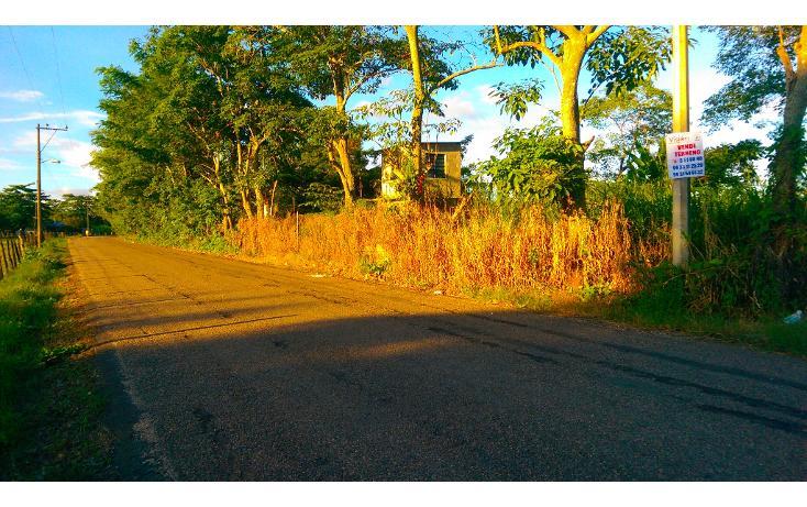 Foto de terreno habitacional en venta en  , saloya 2 sección, nacajuca, tabasco, 1477563 No. 01