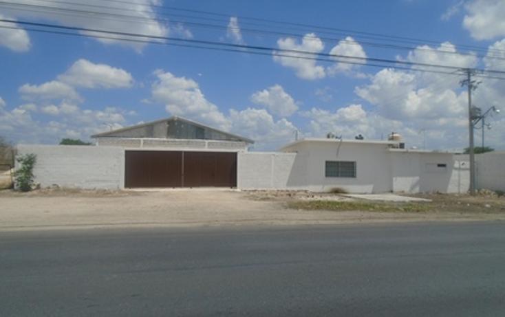 Foto de nave industrial en renta en  , sambula, mérida, yucatán, 1144179 No. 01