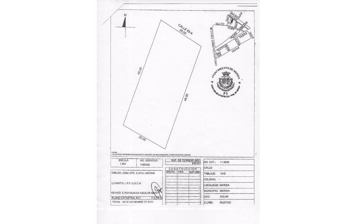 Foto de terreno habitacional en venta en  , sambula, m?rida, yucat?n, 1769692 No. 04