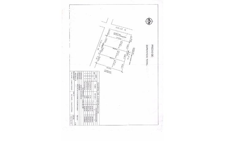 Foto de terreno habitacional en venta en  , samula, campeche, campeche, 1606048 No. 03